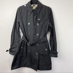 Burberry Brit black spring Trench Coat